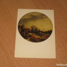 Postales: DAVID TENIERS THE YOUNGER LANDSCAPE WITH A HERD. Lote 206880088