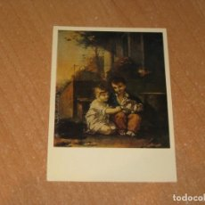 Postales: PIERRE PAUL PRUD´ON CHILDREN WITH A RABBIT. Lote 206880255