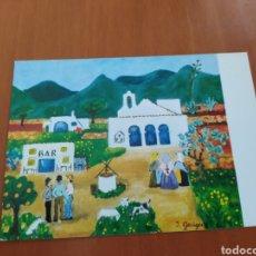 Postales: POSTAL PINTURA NAIF. SIN CIRCULAR. Lote 207276251