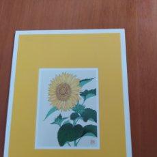 Postales: POSTAL FRANCIA. FLORES. KAWASAKI SHODO. Lote 207290555