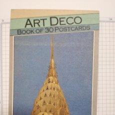 Postales: LIBRO CON 30 POSTALES ART DECO - 1989. Lote 207320417