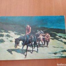 Postales: POSTAL DON QUIJOTE EN SIERRA MORENA. ÓLEO DE A. PALMERO. SIN CIRCULAR. Lote 207322096
