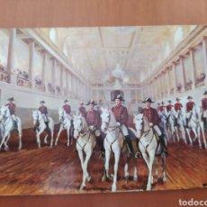 Postales: POSTAL ÓLEO DE A. PALMERO. LA ESCUELA ESPAÑOLA DE EQUITACIÓN EN VIENA. SIN CIRCULAR. Lote 207322982
