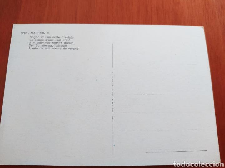 Postales: Postal arte abstracto. Maieron D. Sin circular - Foto 2 - 207330938