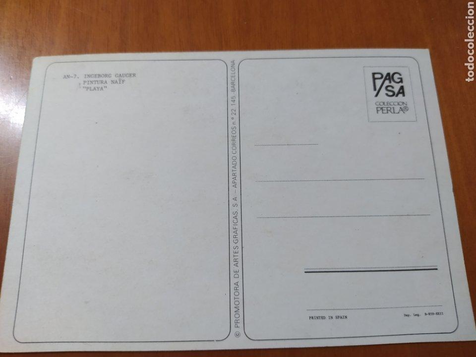 Postales: Postal Ingeborg Gauger. Pintura naif. Sin circular - Foto 2 - 207343230