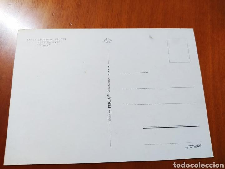 Postales: Postal Ingeborg Gauger. Pintura naif. Sin circular - Foto 2 - 207343823