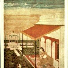 Cartoline: PINTURA: DESHAVARI RAGA, A MUSICAL MODE. NUEVA. COLOR. Lote 207577551