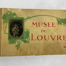 Postales: BP-113. BLOC DE POSTAELS MUSEE DU LOUVRE. ND. 25 IMAGENES. PRINCIPIOS S.XX.. Lote 207699162