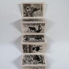 Postales: COLECCIÓN 8 FOTOS B/N MANOLETE. 9,5X6 CM. Lote 207760540