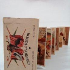 Postales: COLECCIÓN 12 POSTALES TAURINAS. EDICIONES I. G. COLL. BARCELONA, AÑOS. Lote 207764077