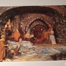 Postales: MONESTIR DE SOLIUS(BAIX EMPORDÀ) PESEBRE/ BISCANDO ALBERGUE/ SIN CIRCULAR/ (REF.B.16). Lote 210465635