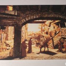 Postales: MONESTIR DE SOLIUS(BAIX EMPORDÀ) PESEBRE/ PARTIENDO HACIA BELEN/ SIN CIRCULAR/ (REF.B.16). Lote 210465723