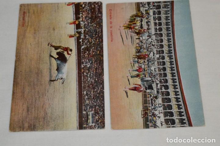 Postales: FAENAS TAURINAS - Colección 9 postales antiguas/variados - Principios siglo pasado / ESPAÑA - ¡Mira! - Foto 5 - 210968295