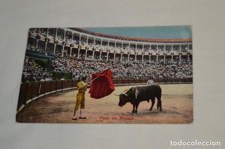 Postales: FAENAS TAURINAS - Colección 9 postales antiguas/variados - Principios siglo pasado / ESPAÑA - ¡Mira! - Foto 7 - 210968295
