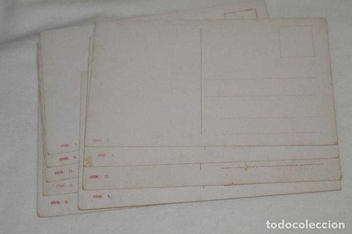 Postales: FAENAS TAURINAS - Colección 9 postales antiguas/variados - Principios siglo pasado / ESPAÑA - ¡Mira! - Foto 8 - 210968295