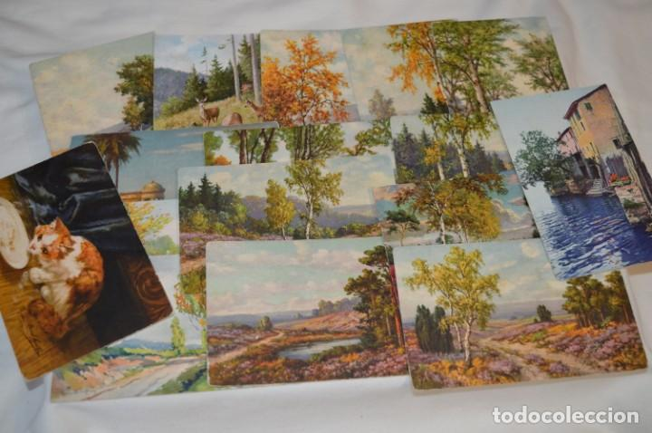 Postales: Lote variado / 16 antiguas postales - Paisajes / Made In Switzerland ¡Mira fotos y detalles! - Foto 2 - 211663258