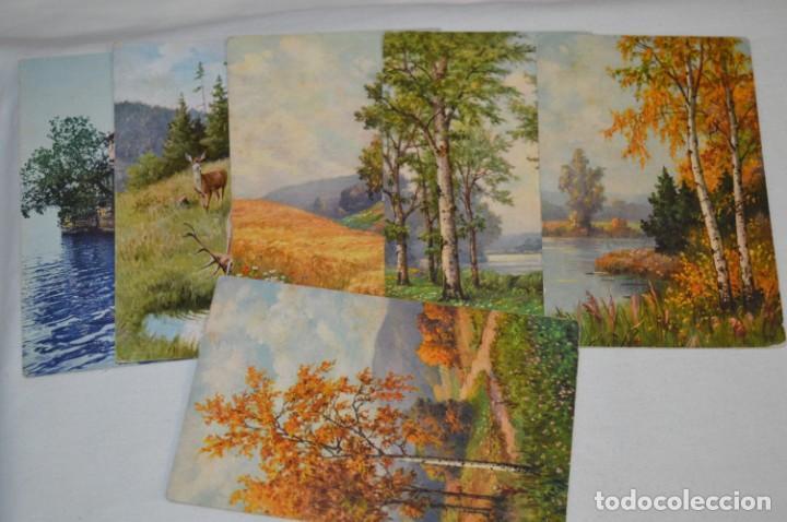 Postales: Lote variado / 16 antiguas postales - Paisajes / Made In Switzerland ¡Mira fotos y detalles! - Foto 3 - 211663258