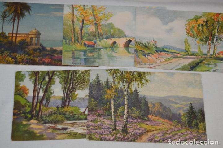 Postales: Lote variado / 16 antiguas postales - Paisajes / Made In Switzerland ¡Mira fotos y detalles! - Foto 4 - 211663258