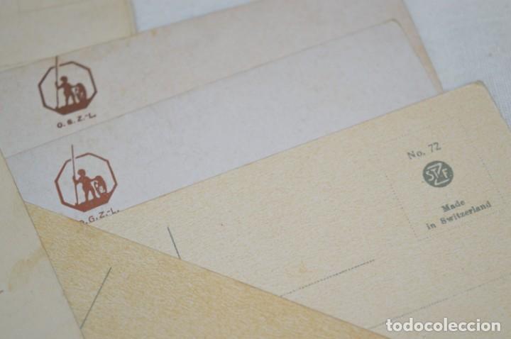 Postales: Lote variado / 16 antiguas postales - Paisajes / Made In Switzerland ¡Mira fotos y detalles! - Foto 8 - 211663258