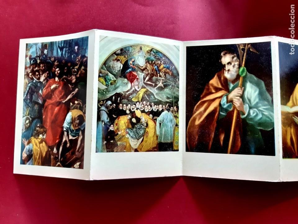 Postales: PINTURAS DEL GRECO-TOLEDO-15 POSTALES - Foto 3 - 212188642