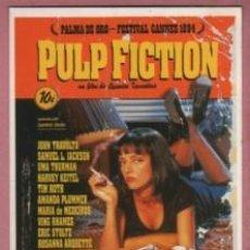 Postales: POSTA TEMA CINE DEL CARTEL DE LA PELÍCULA PULP FICTION PALMA D ORO CANNES 1994. Lote 213071432