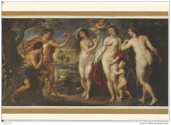 // E264 - POSTAL - RUBENS - EL JUICIO DE PARIS (Postales - Postales Temáticas - Arte)