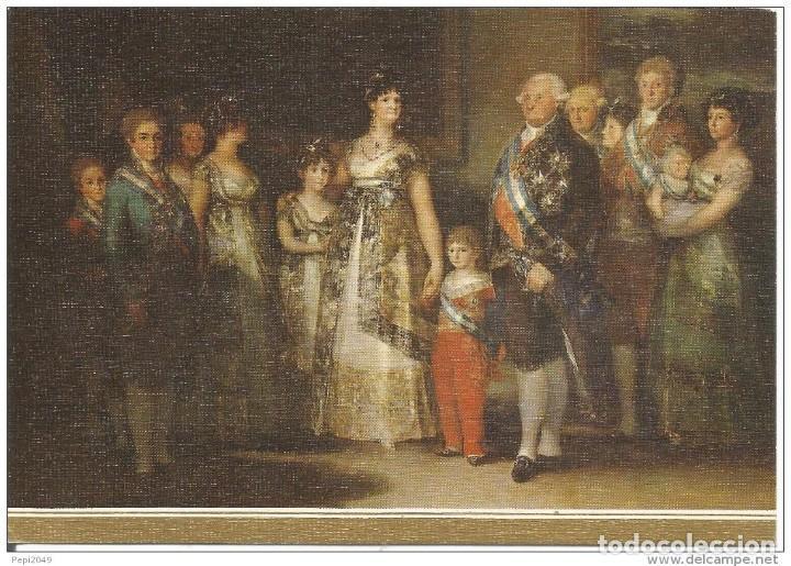 // E273 - POSTAL - GOYA - LA FAMILIA DE CARLOS IV (Postales - Postales Temáticas - Arte)