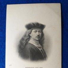 Postales: POSTAL ARTE. FOTO POSTAL CON RESEÑA DEL PINTOR REMBRANDT VAN RYN. COLLECTION ND. FRANCIA. # 438. Lote 213695980