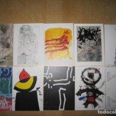 Postales: COLECCIÓN DE 10 POSTALES ARTE10. Lote 214915042