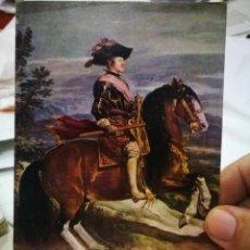 Postales: POSTAL MUSEO DEL PRADO VELÁZQUEZ FELIPE IV OFFO ESTADO REGULAR. Lote 217360482