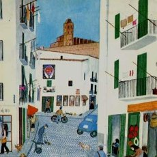 Postales: MARGOT TATE / IBIZA NAIF / IMPRESA EN 1978. Lote 218103408