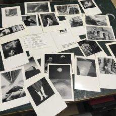 Postales: AULA 7 GRUPO FOTOGRÁFICO MÁLAGA, 21 POSTALES 1989 - 1993. Lote 219129982