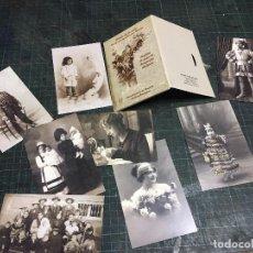 Postales: EL HILO DE LA VIDA. UN LEGADO FOTOGRÁFICO PARA CÓRDOBA 1854-1939 POSTALES. Lote 219130585
