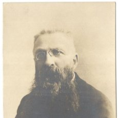 Postales: POSTAL FOTOGRAFICA- AUGUSTE RODIN - ESCULTOR - REUTLINGER - PARÍS, AÑOS 1910-20.. Lote 220707996