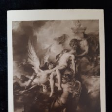 Postales: POSTAL DE LA OBRA SARPEDON DE H. LEVU . MUSEE DU LUXEMBORG. AÑOS 50.. Lote 221907041