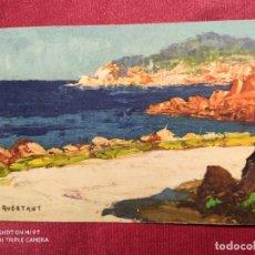 Postales: TARJETA POSTAL. Nº 724. ROUTE DE L'ESTÉREL. A. QUERTANT. IMPRIME EN SUISSE. Lote 221964405