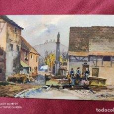 Postales: TARJETA POSTAL. Nº 466. EGUISHEIM (ALSACE) . PAUL MANNSFELD. IMPRIME EN SUISSE. Lote 221971783