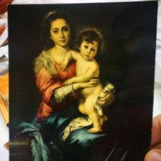 Postales: POSTAL FIRENZE GALLERÍA PITTI MURILLO 1617 - 1682 MADONNA CON GESU BAMBINO MARZARI S/C. Lote 222042477