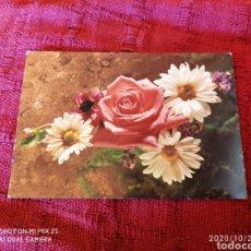 Postales: POSTAL FLORES (1974). Lote 222517113