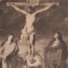 Postales: POSTAL RUBENS - LE CHRIST EN CROIX - MUSEE DU LOUVRE - LL. Lote 222523782