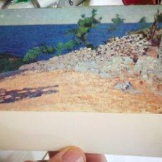 Postales: POSTAL HENRIQUE POUSAO PAISAGEM ANACAPRI S.XIX MUSEU NACIONAL DE SOARES DOS REIS S/C. Lote 222534255