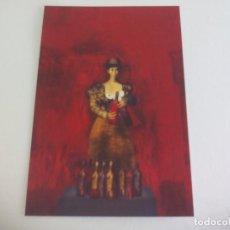 Postales: POSTAL LORENZO SAVAL. LA TIA PEPA 2008 COLLAGE PUBLICA REVISTA LITORAL SIN CIRCULAR POST CARD. Lote 222619918