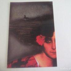 Postales: POSTAL LORENZO SAVAL. LA POESIA DEL FLAMENCO. 2004 PUBLICA REVISTA LITORAL SIN CIRCULAR POST CARD. Lote 222619950
