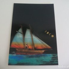Postales: POSTAL LORENZO SAVAL. NAVEGANTE SOLITARIO. 2006. PUBLICA REVISTA LITORAL SIN CIRCULAR POST CARD. Lote 222619976
