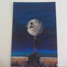 Postales: POSTAL LORENZO SAVAL ESCALEARA A LA NOCHE 2009 PUBLICA REVISTA POESIA LITORAL SIN CIRCULAR POST CARD. Lote 222620128