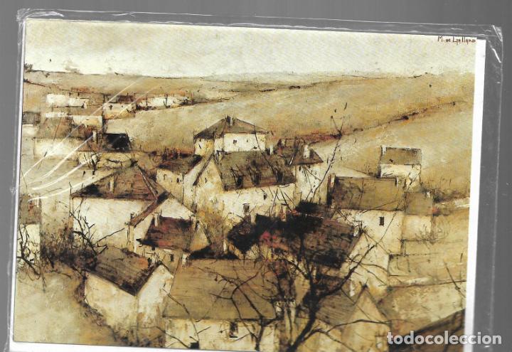 MICHEL DE GALLARD / VILLAGE DE L'YONNE. POSTAL DÍPTICA Y NUEVA. EDICIÓN VERKERKE NÚM. AC 3600 (Postales - Postales Temáticas - Arte)
