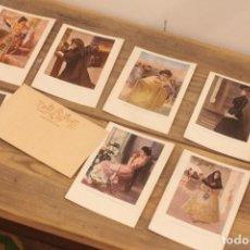 Postales: TARJETA POSTAL, BLANCO Y NEGRO, SERIE B. LOTE DE 8. SERIE COMPLETA.. Lote 223284751