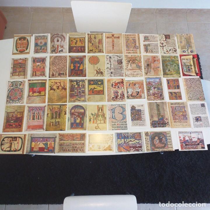 47 POSTALES DE MINIATURA MEDIEVAL (Postales - Postales Temáticas - Arte)