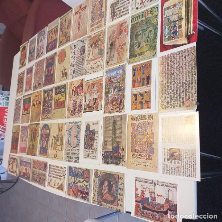 Postales: 47 postales de Miniatura Medieval - Foto 4 - 223341533