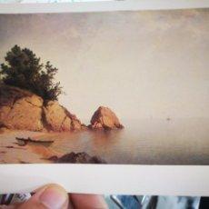 Cartes Postales: POSTAL JOHN FREDERICK KENSERT BEACH AY NEWPORT C. 1850 - 1860 NATIONAL GALLERY OF ART WASHINGTON S/C. Lote 224294553